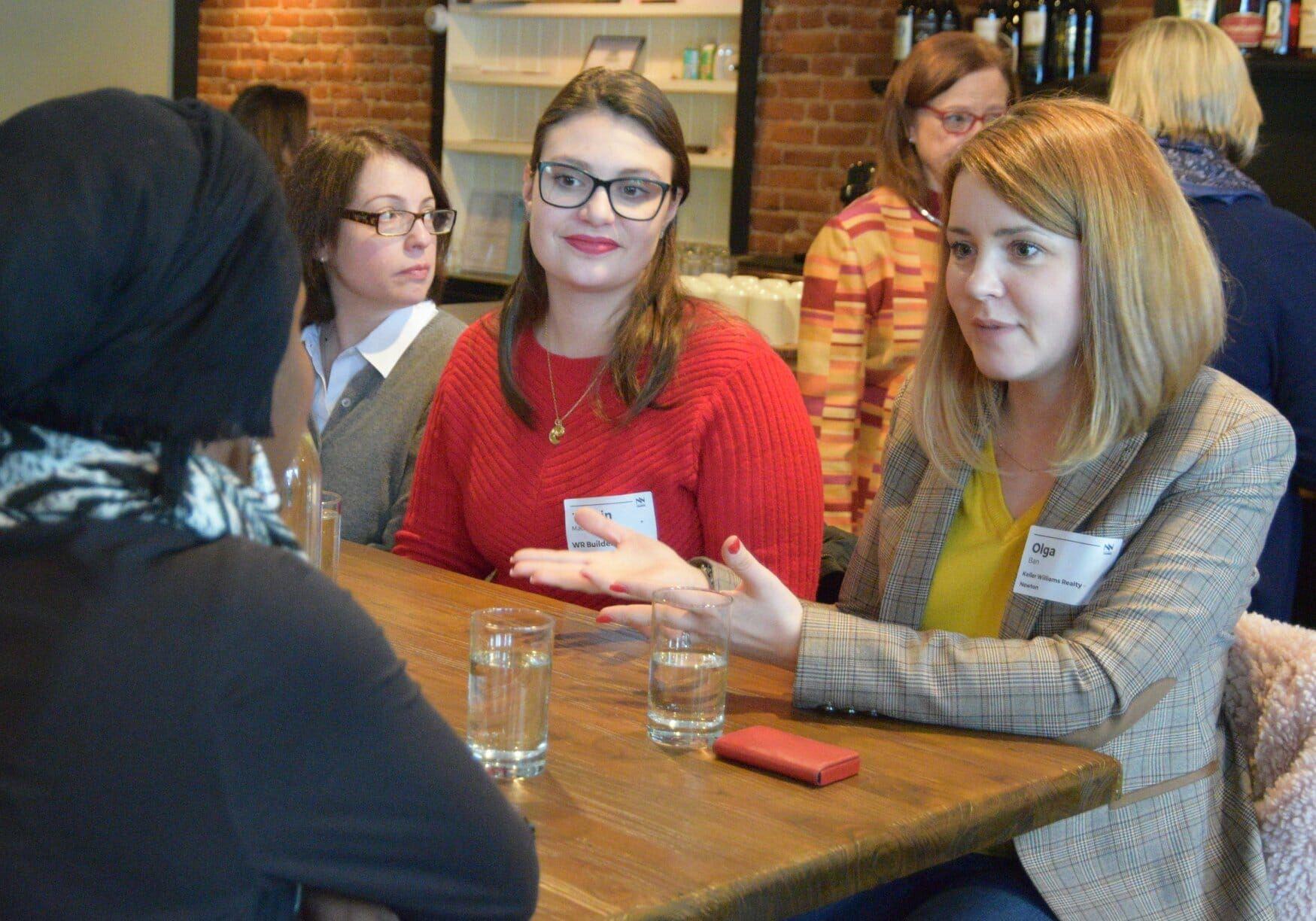 Women in Networking Lunch Photo